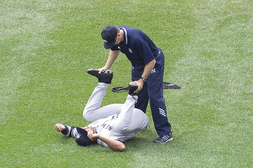 Jeter said you were tight!  But I thought he was joking!!