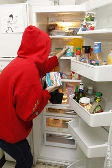 Stealing Food at Work