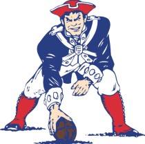 old school pats logo