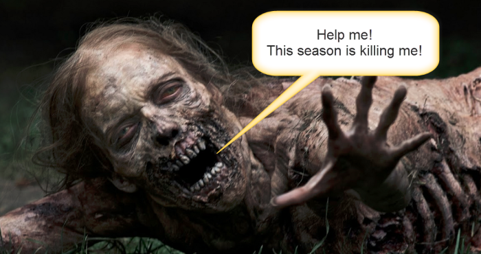 walking dead caption